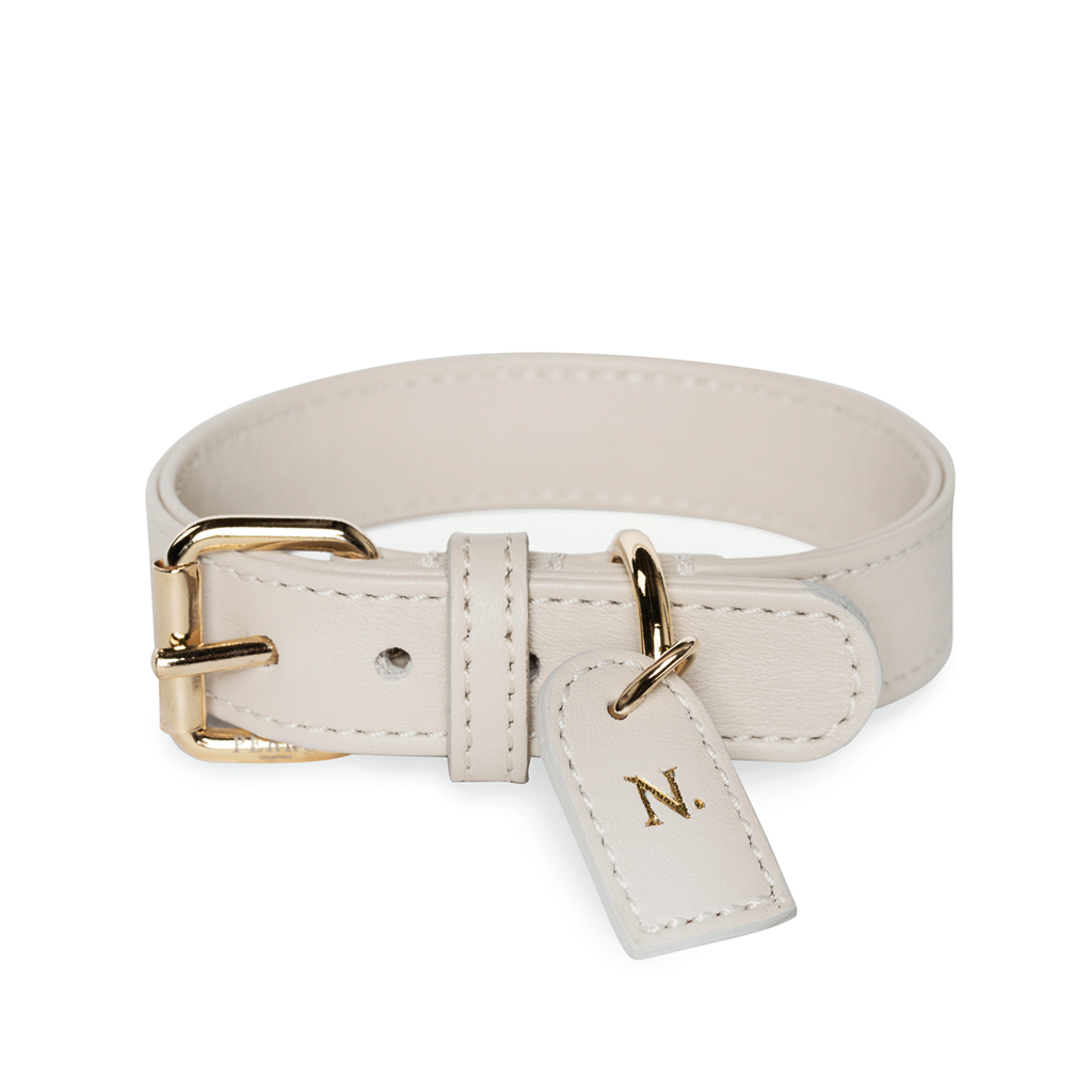 Off white collar tag