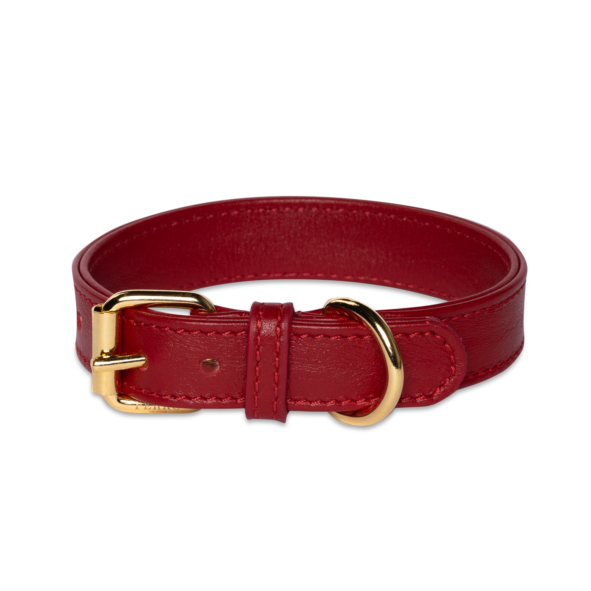 scarlet red collar