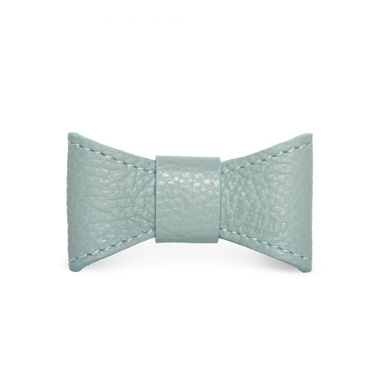MINT LEATHER BOW