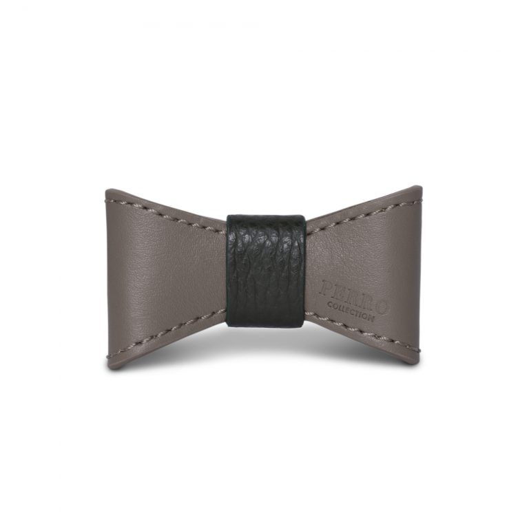 taupe green special edition bowtie